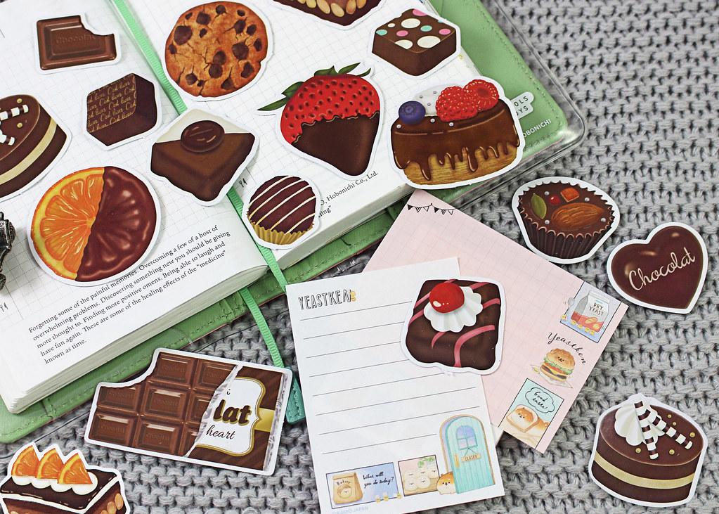 Choco Flake Stickers
