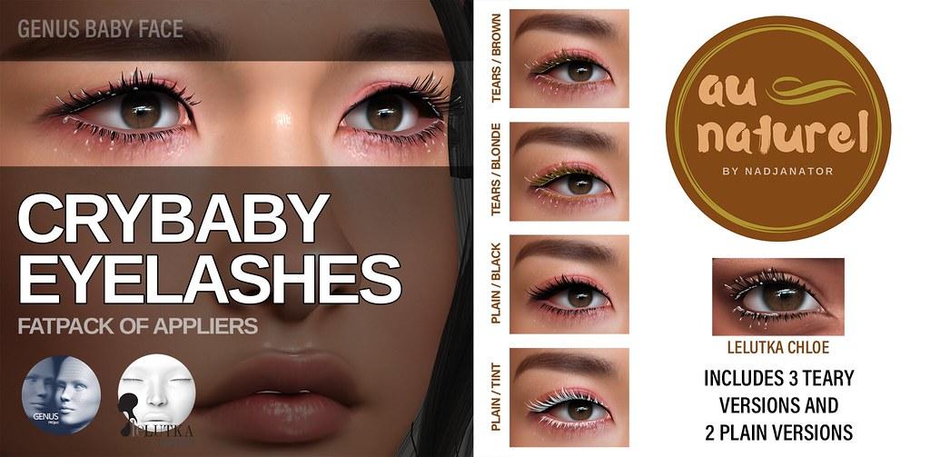 auNaturel // Crybaby Eyelashes