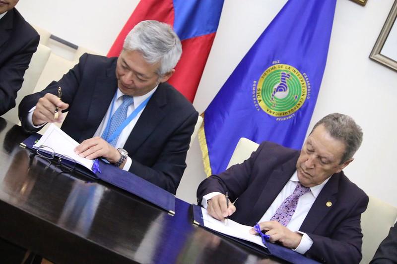 Secretaría General del SICA firma acuerdo con el Fondo para la Cooperación de la República de China (Taiwán)