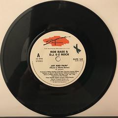 ROB BASE & DJ E-Z ROCK:JOY AND PAIN(RECORD SIDE-A)
