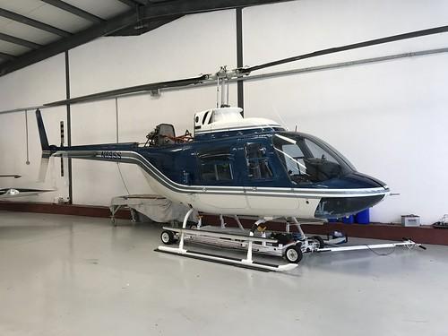 N89SS, Bell 206  II (1010), Kilrush 24th March 2019