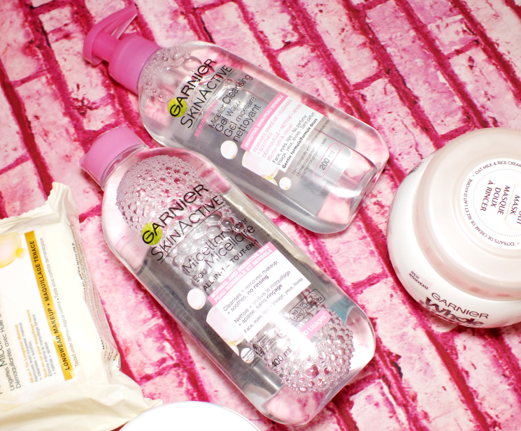 garnier skinactive mincellar and micellar cleansing gel