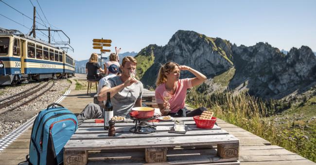 Švýcarsko po kolejích a v pohorkách