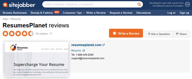 resumeplanet refund