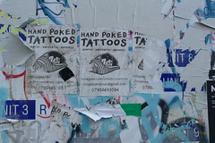 Hand Poked Tattoos