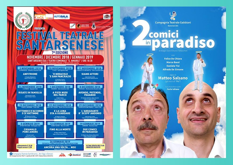 festival teatrale santarsenese 20 gennaio 2019 locandina