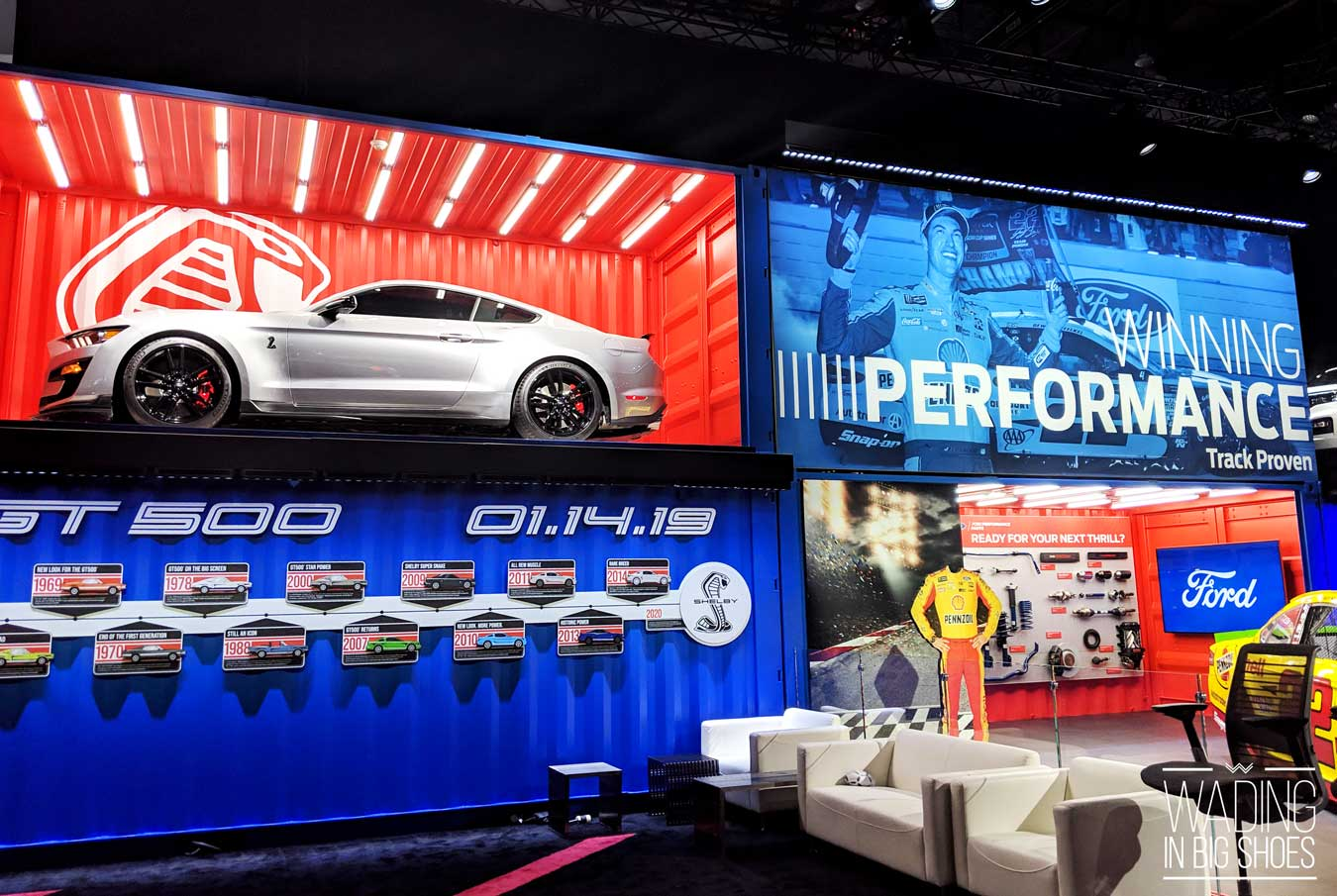 Detroit Auto Show 2019 Highlights: Must-See Cars + Best Interactive Exhibits (via Wading in Big Shoes)