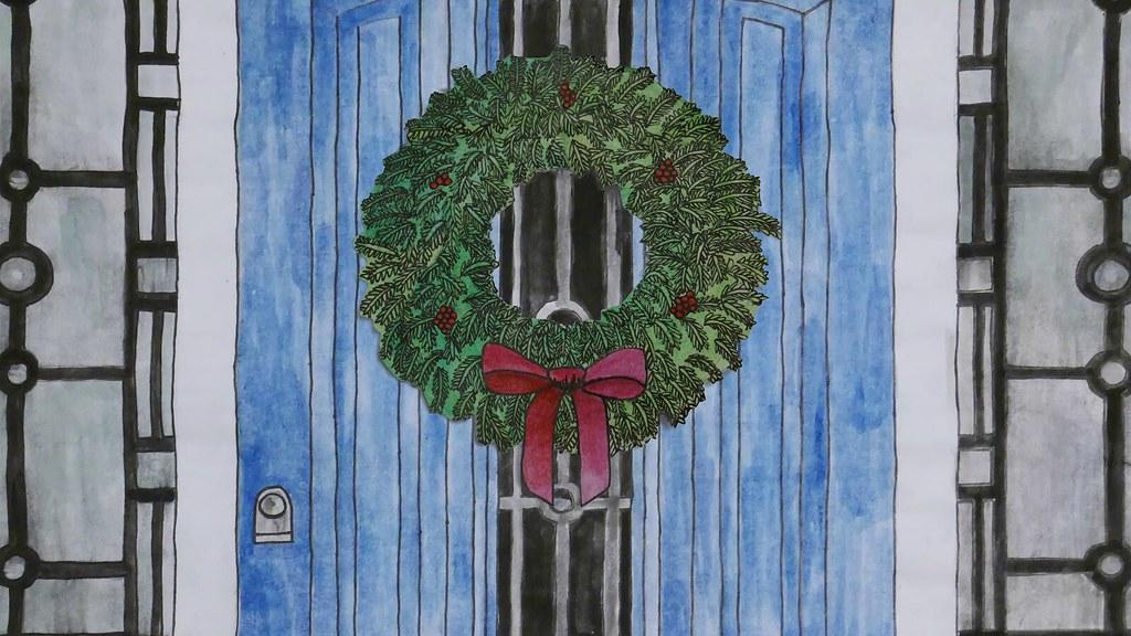 Wreath + Robin