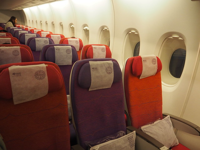 PC310198 タイ国際航空 バンコク タイ 飛行機 ひめごと