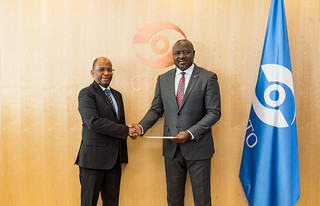 Presentation of Credentials by Mozambique | by The Official CTBTO Photostream