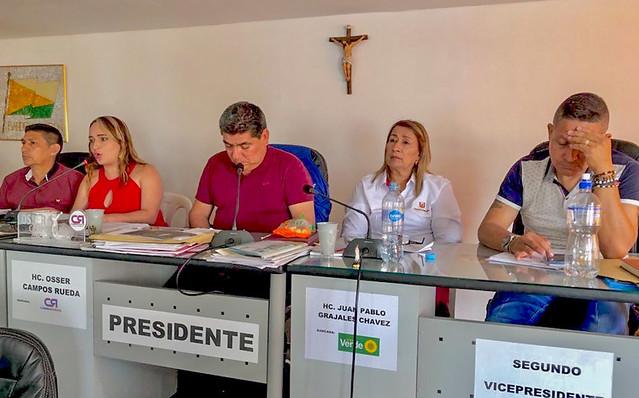 Contundente apoyo del Concejo de Garzón a la Autonomía Universitaria de la USCO, en informe de gestión
