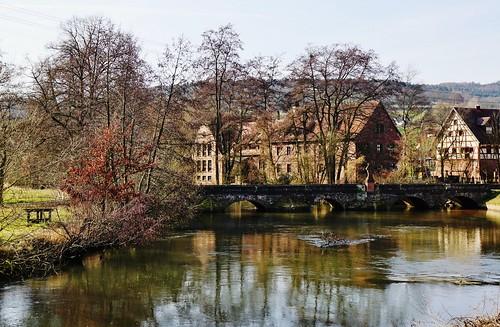Das Dörflein Schaippach im Sinntal - The small village Schaippach in the valley of the river Sinn