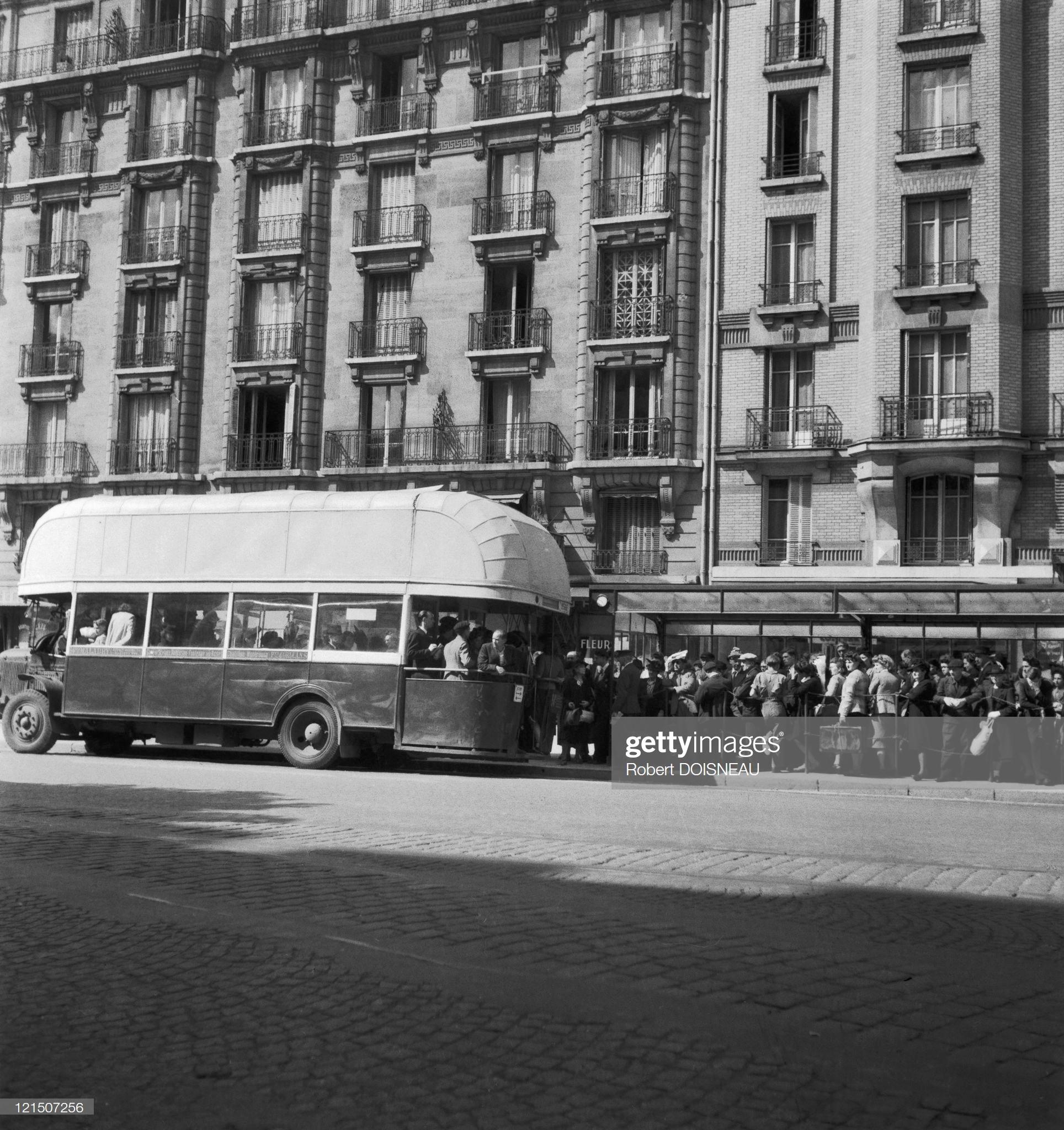 1944. Париж во время оккупации