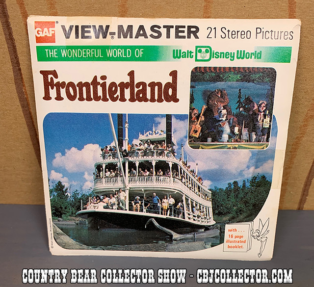 1982 Walt Disney World Frontierland View-Master Reels - Country Bear Collector Show #198