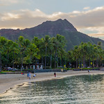 Diamond Head from Waikiki Beach