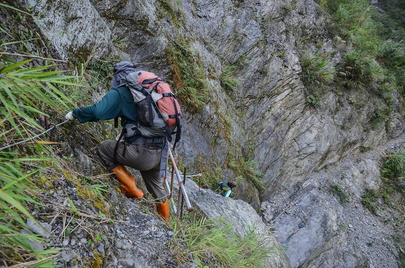 岩壁鐵梯段 (9)