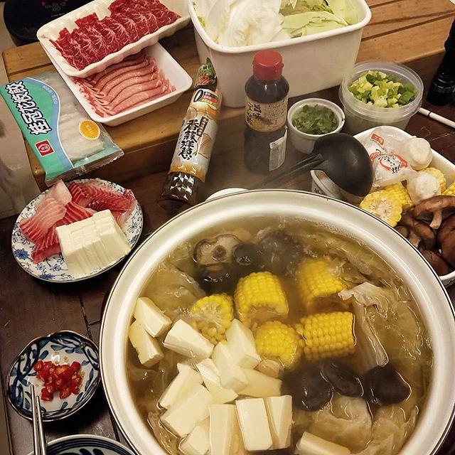 20190314 今晚就來一鍋 #葛蘿的餐桌 #隨便煮都勝過吃外面 #火鍋最高