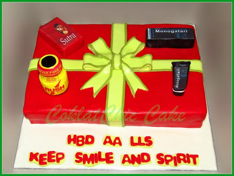 Cake ADULT AA LLS 20x30 cm