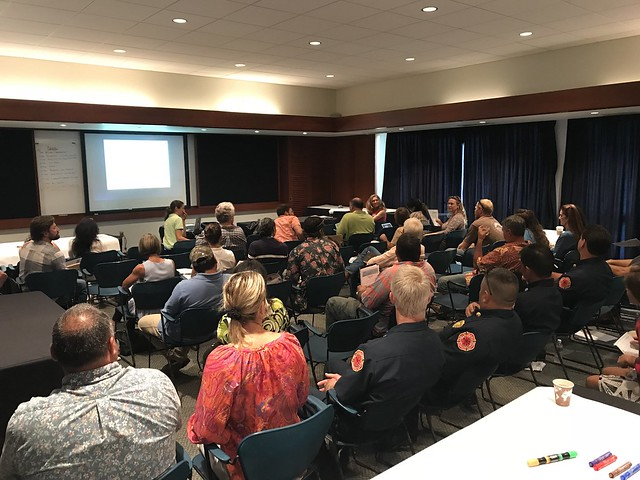 Maui Vegetative Fuels Management Collaborative Action Planning Meeting 9/27/18