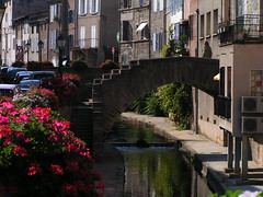 20080830 28604 Jakobus Montbrison Häuserfassade Bach Brücke Wasser - Photo of Essertines-en-Châtelneuf