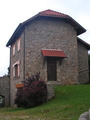 20080901 28979 1002 Jakobus Montarcher Haus Tür Fenster - Photo of Saint-Jean-Soleymieux