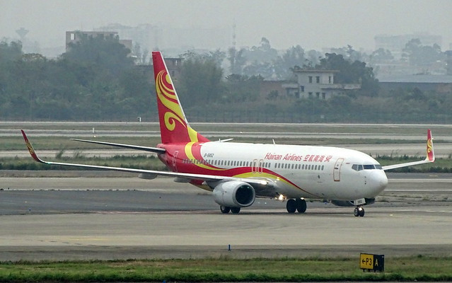 Hainan Airlines Boeing 737-800 B-5852