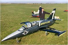 Moi avec le plus gros Jet de France au Caen Aéromodèles - Photo of Tilly-la-Campagne