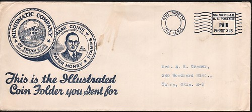 B. Max Mehl Catalog envelope