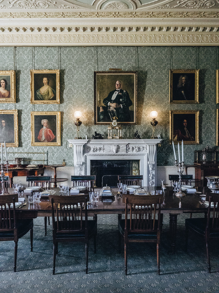 Haddo House - dining-2