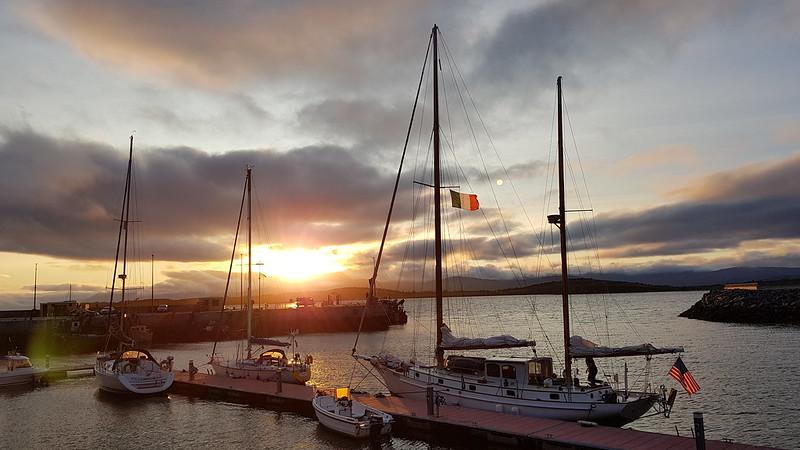 Ireland arrival