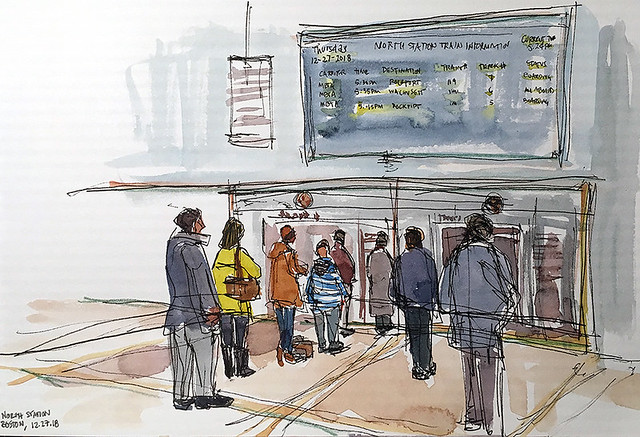181227 North Station Boston