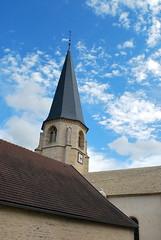 Fontaines-en-Duesmois (21) : église Saint-Germain-d'Auxerre
