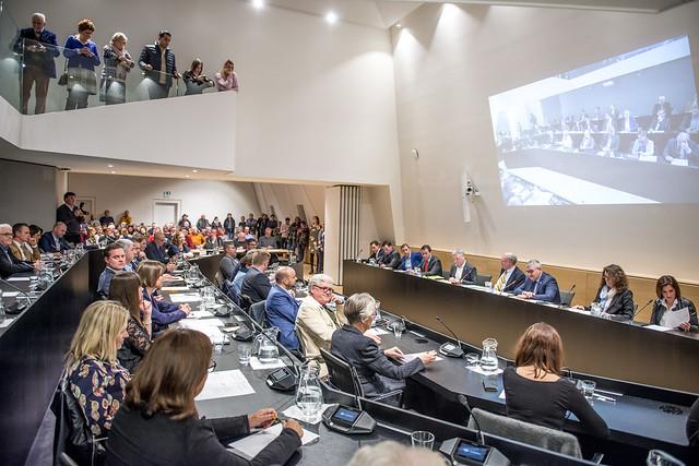 installatie gemeenteraad 2019