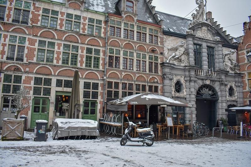 Sint-Veerleplein 5, 9000 Gent con nieve