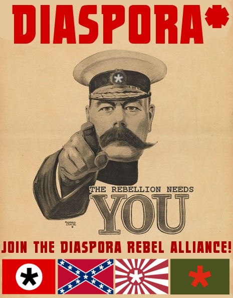 Diaspora* - The Rebellion Needs You...
