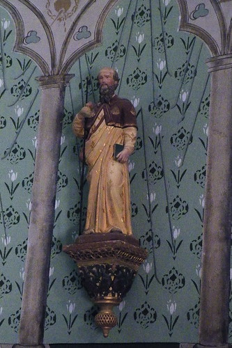 20090529 121 1108 Jakobus Kirche Statue Santiago