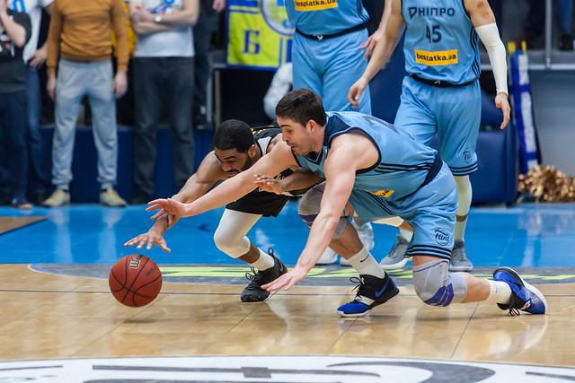 БК Днепр - БК Киев-Баскет