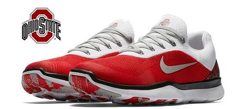 promo code 87a89 25c64 Nike Ohio State Free Trainer V7 8 Long