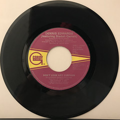 DENNIS EDWARDS:DON'T LOOK ANY FURTHER(RECORD SIDE-A)