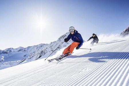Jarní lyžování na Stubai