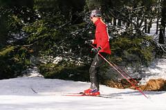 Otestování běžeckých lyží