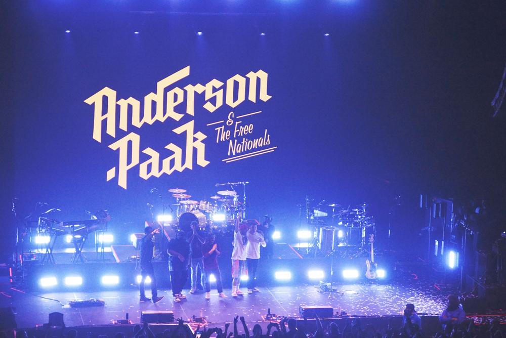 Anderson .Paak @ Hammerstein Ballroom