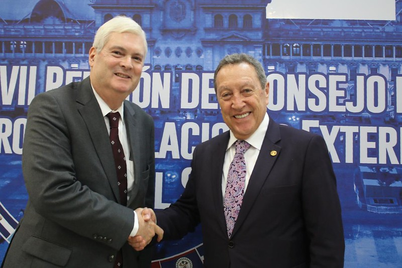SG Vinicio Cerezo se reúne con Canciller de Costa Rica, Manuel Ventura