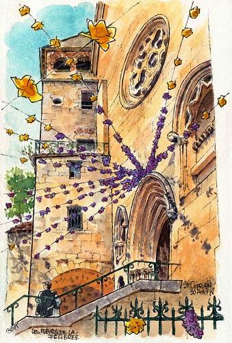 St Cyprien, la Félibrée