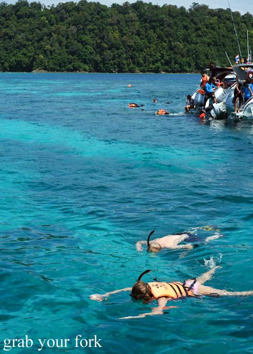 Best ever snorkeling in Surin Islands of Khao Lak, Thailand