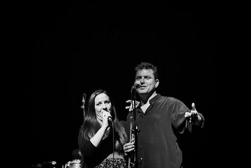 Noelia Rodríguez, y Gerardo López