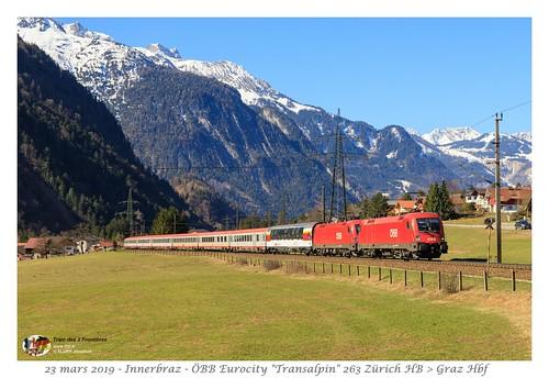 Rh 1116 065 Transalpin - Innerbraz