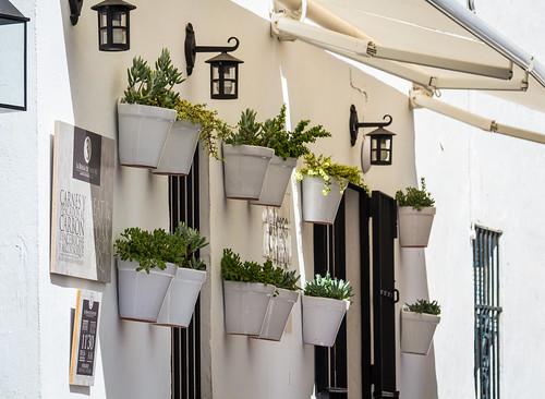 Spain - Cadiz - Vejer White pots