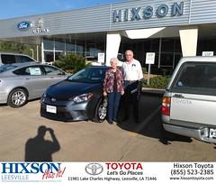 #HappyBirthday to Louise and John from Jason Olfers at Hixson Toyota of Leesville!