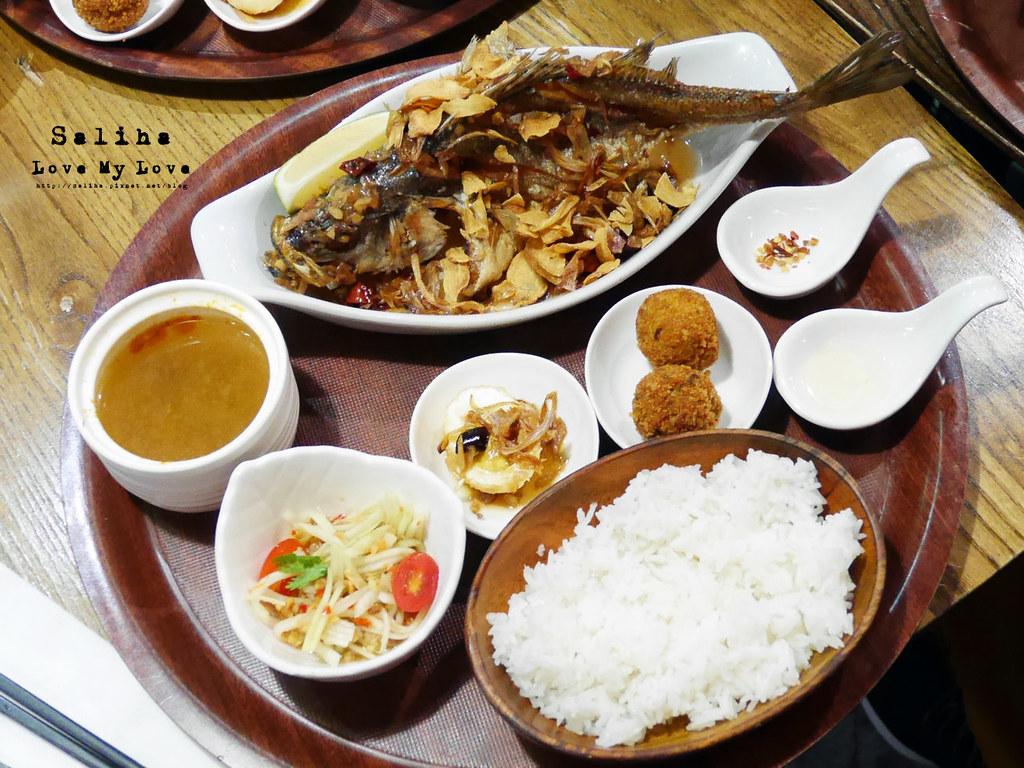 台北公館站台大附近泰式料理餐廳右手餐廳定食 (14)